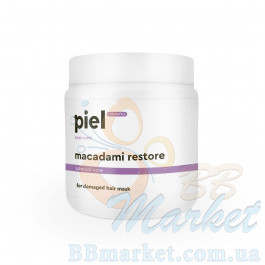 Восстанавливающая маска для поврежденных волос  PIEL Hair Care MACADAMI Restore Mask 500ml