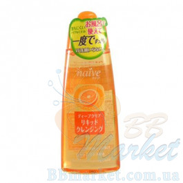 Гидрофильная жидкость Kanebo Kracie Naive Deep Cleansing Liquid Orange