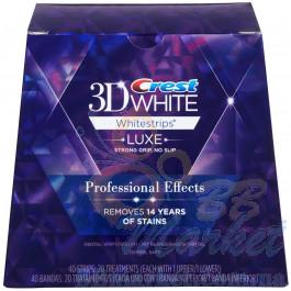 Отбеливающие полоски для зубов Crest 3D White Whitestrips Professional Effects (40 штук)