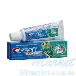 Зубная паста Crest Complete Multi-Benefit Whitening Scope Minty Fresh Striped 24g