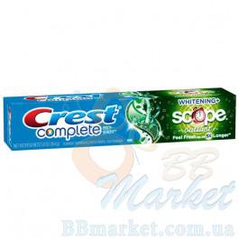 Отбеливающая зубная паста Crest Complete Multi-Benefit Whitening Scope Outlast 164 g
