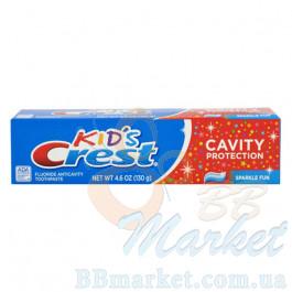 Детская зубная паста Crest Kid's Cavity Protection Sparkle Fun 130 g