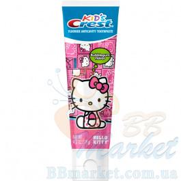 Детская зубная паста Crest Kid's Hello Kitty Bubblegum Flavor 119g