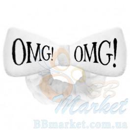 Косметическая повязка для волос Double Dare OMG! White Hair Band (белая)
