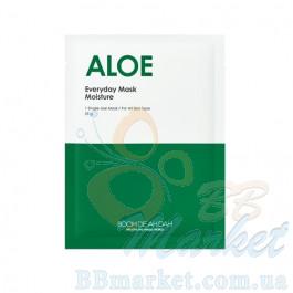 Увлажняющая  маска для лица с алоэ BOOMDEAHDAH Everyday Mask Aloe 25g