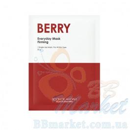 Ежедневная укрепляющая маска для лица с экстрактами ягод BOOMDEAHDAH Everyday Mask Berry 25g