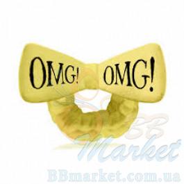 Косметическая повязка для волос Double Dare OMG! Yellow Hair Band (жёлтая)