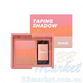 Палетка теней HEIMISH Taping Shadow Peach Coral 4g