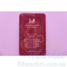 MISSHA M Perfect Cover BB Cream ББ Крем SPF42 - 1мл