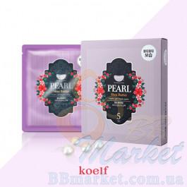 Гидрогелевая маска для лица с жемчугом KOELF Pearl & Shea Butter Hydro Gel Mask 30g