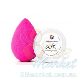 Набор розовый BEAUTYBLENDER + mini мыло SOLID