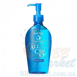 Гидрофильное масло Shiseido Senka All Clear Oil 230ml