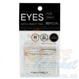 Наклейки для век TonyMoly Double Eyelid Tape Both Sides
