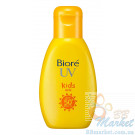 Солнцезащитное молочко для детей Biore UV Kids Milk, SPF50+ PA++++, Kao, 90gr