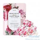 Укрепляющая маска-носочки для ног KOELF Rose Petal Satin Foot Mask 16g