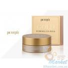 УЦЕНКА! (Помятая упаковка) Гидрогелевые патчи для глаз с золотым комплексом +5 - PETITFEE Gold Hydrogel Eye Patch 60шт