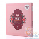 Гидрогелевая маска для лица с рубином  KOELF Ruby & Bulgarian Rose Hydro Gel Mask 30g x 5 шт